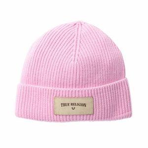 Brand New True Religion Beanie NWT Bubblegum Pink